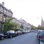 Leafy street in the West End