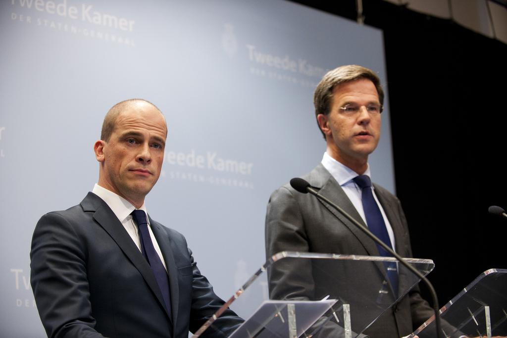 Deelakkoord begroting 2013 (Photo: Minister-president Rutte on Flickr)