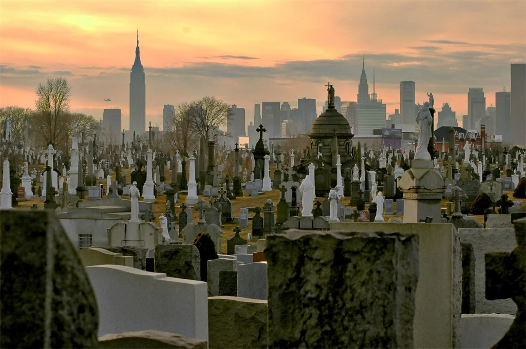 Burial Ground in New York City. Source: Wikipedia Commons