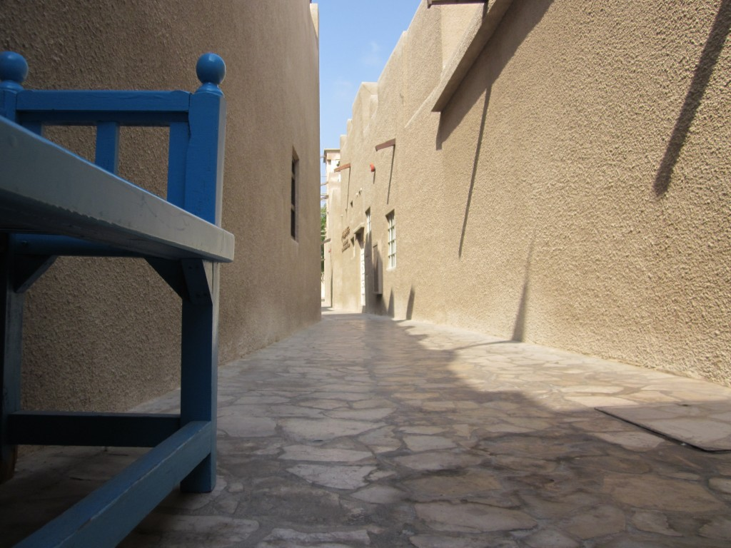 Little street of Bastakiya Quarter