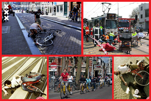 Gemeente Amsterdam shows us what the bicycle concerns are... (Gemeente Amsterdam, 2013)