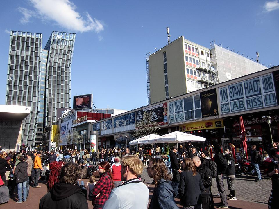 Urban Transformation: Spielbudenplatz St. Pauli