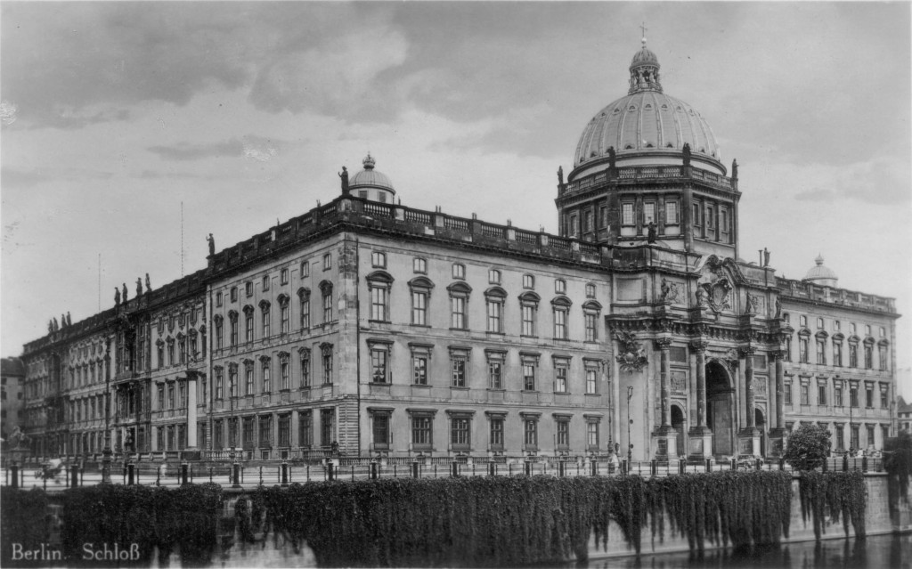 Stadtschloss Berlin, ca 1920 (Wikimedia Commons)