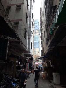 High-rises, urban-village-style