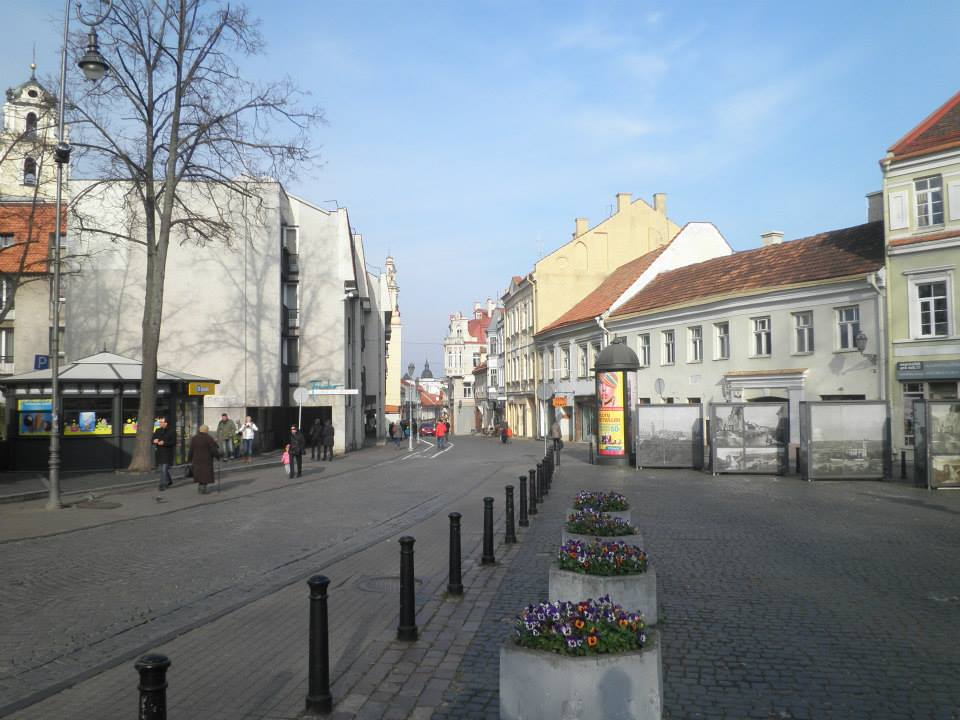 Vilnius' historical, well-preserved centre (picture by Jorn Koelemaij)