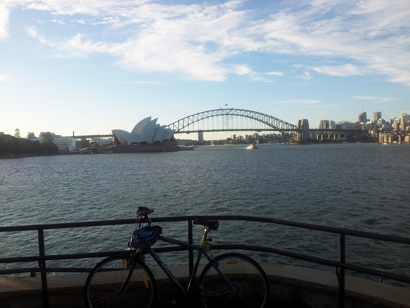 Sydney looks like a cyclists dream, but the city has a long way to go to become bike–friendly (Photo: Matt Smith)