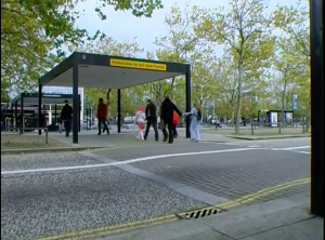 Milton Keynes: 'Pedestrians do not have priority'