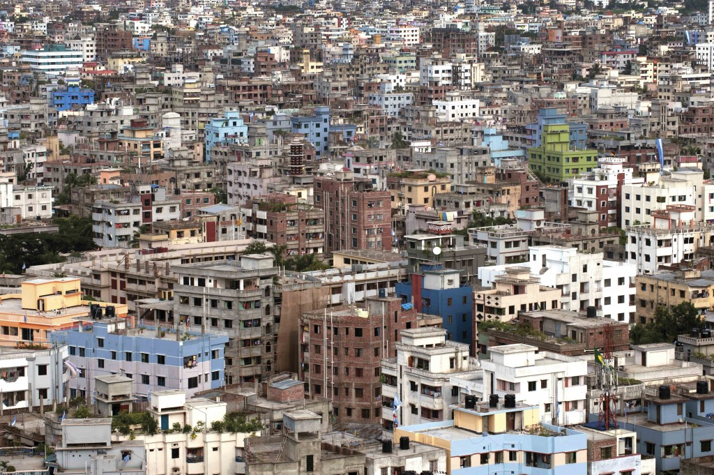 View over Dhaka (source: UN, photo taken by Kibai Park/Sipa Press)