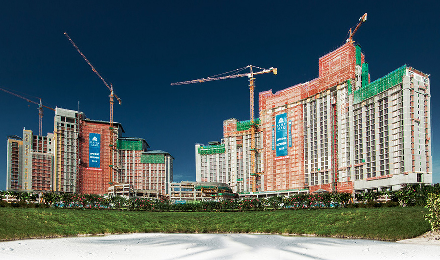 Baha Mar Under Construction (Photo: Kovah Duncombe)