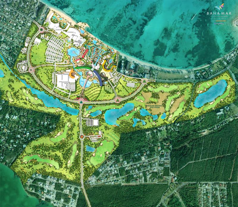 Baha Mar Master Plan
