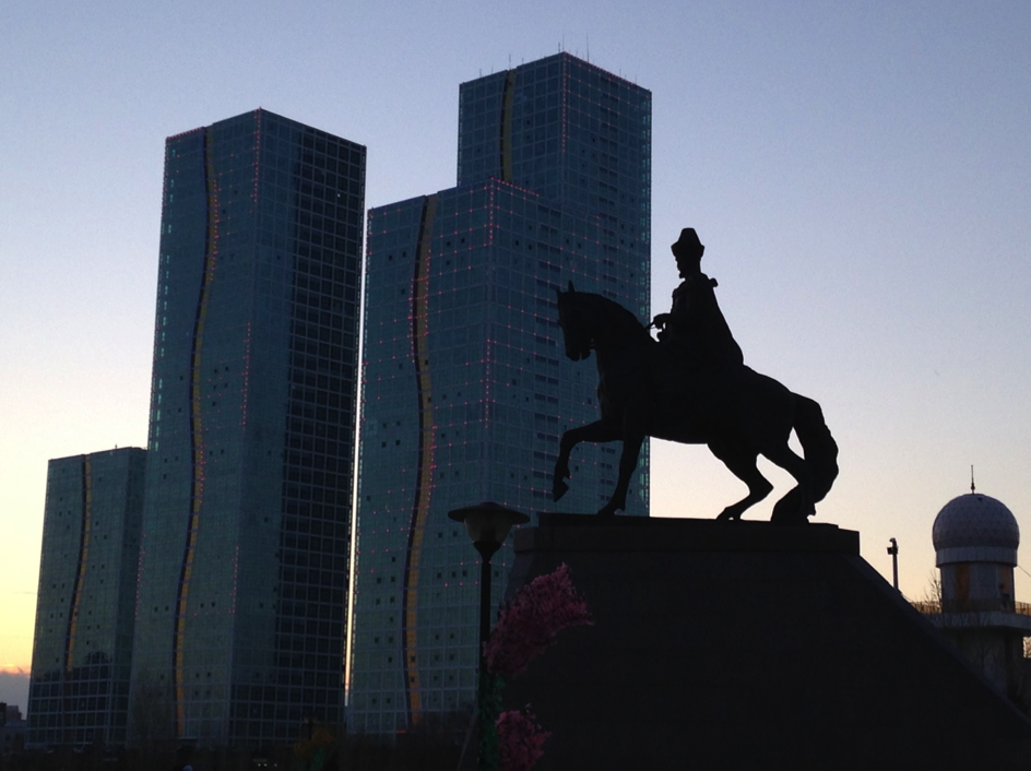 History Meets the Future in Astana (Photo: Steffen Fokkema)