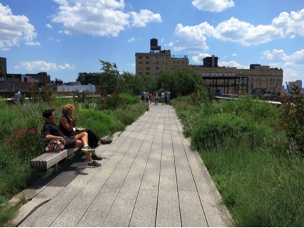 NYC High Line. Photo by Urban Land Institute