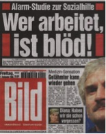 Cover of Bild-Zeitung, newspaper published by Axel Springer SE