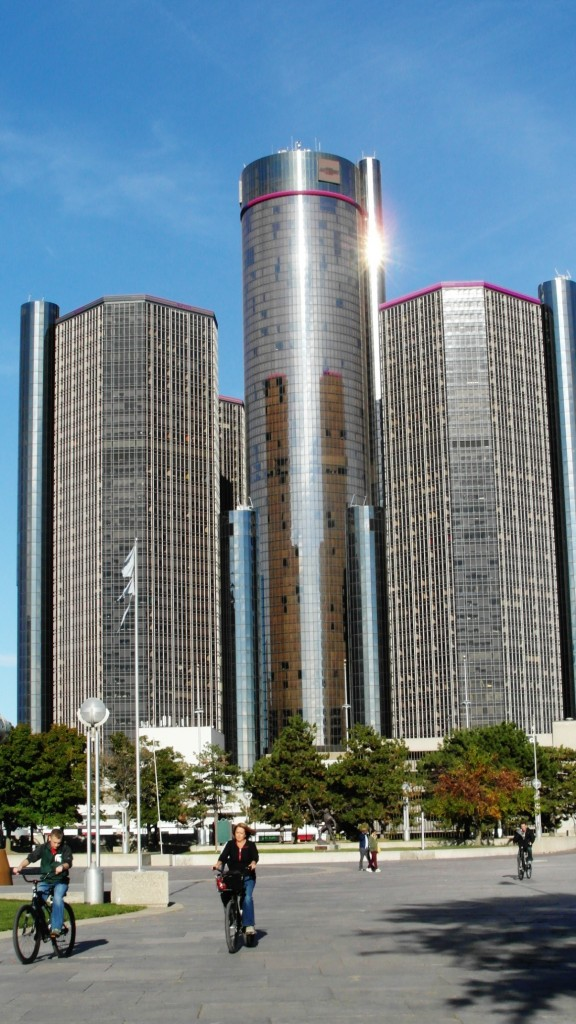 The Renaissance center (Photo: authors).
