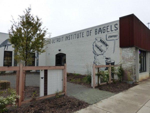 The Detroit Institute of Bagels: a new hip Bagel-bar (photo: Authors)