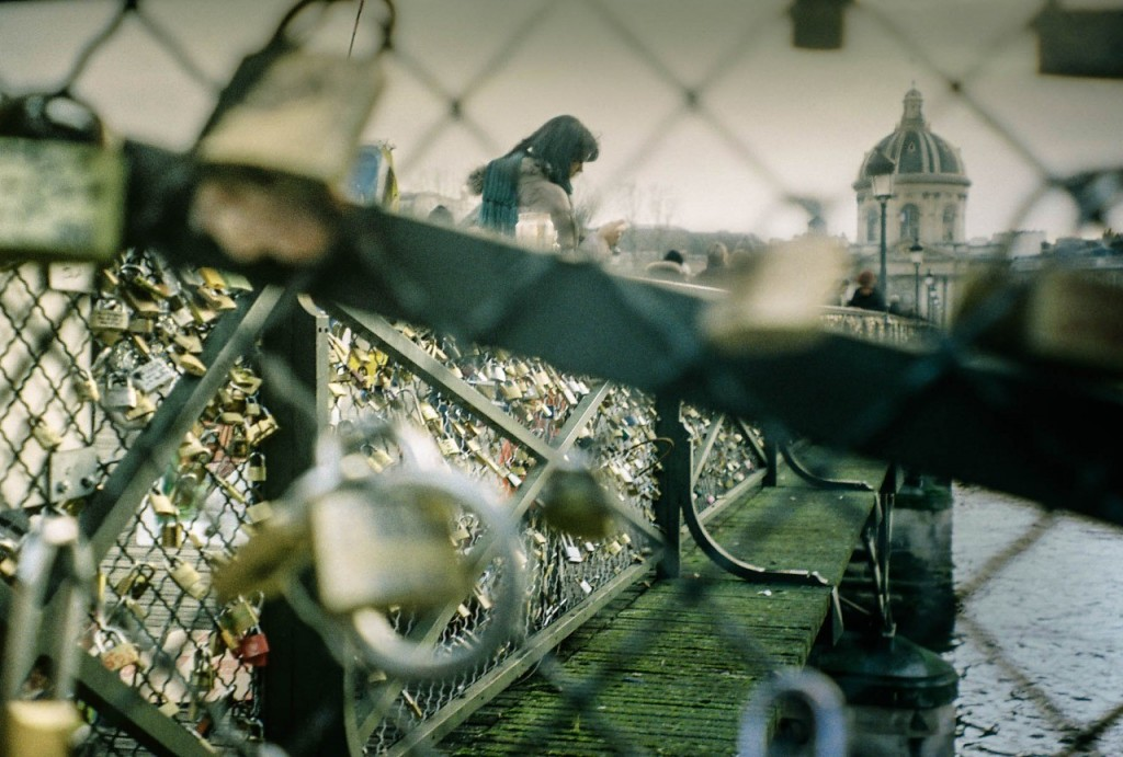 Pont des Arts, December 2012 Photo: Author