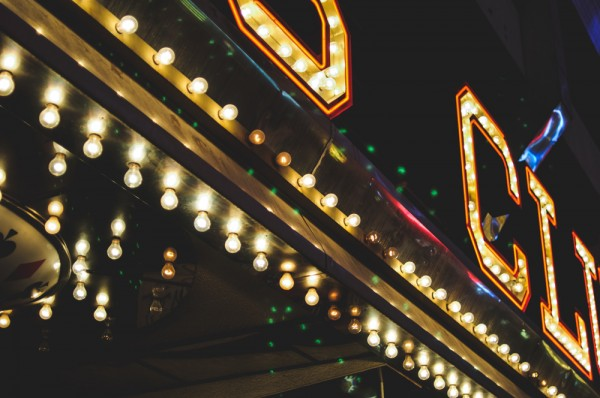 Street-facing neon on Fremont Street in Las Vegas (Photo: Adam Nowek)