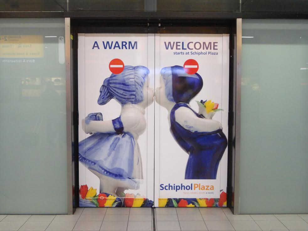 Welcome to Schiphol Airport; welcome to the Netherlands