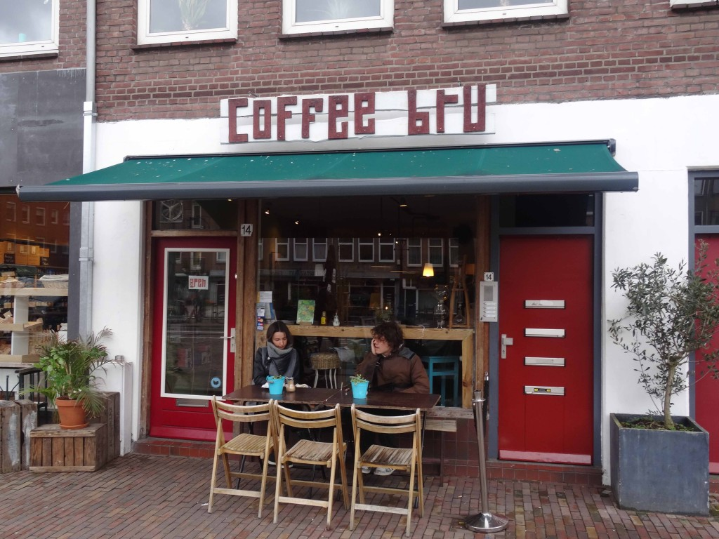 Amsterdam's Coffee Bru is part of a larger urban renewal process.  (Photo: Wietze Gelmers, Amsterdam)
