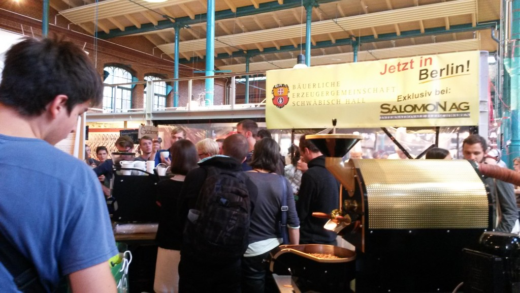 espresso workshop in Markthalle Neun (Source: Rosanne Nieuwesteeg, 2015).