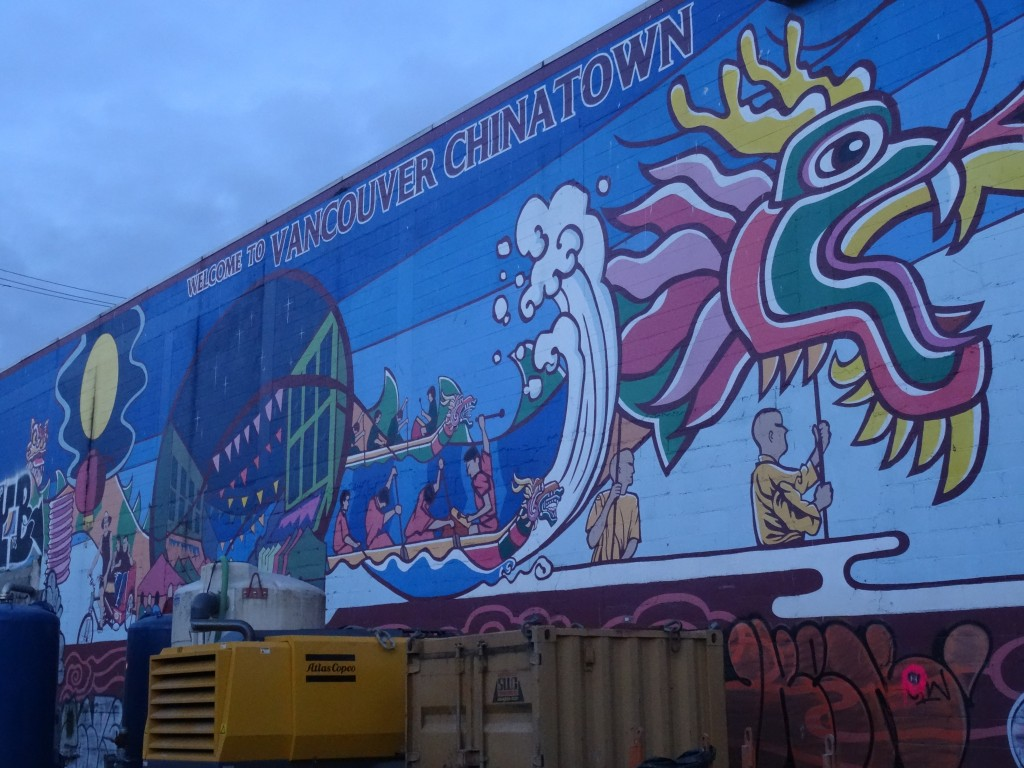 This 'Welcome to Chinatown' mural was painted in 2009 (Photo: Karin de Nijs)