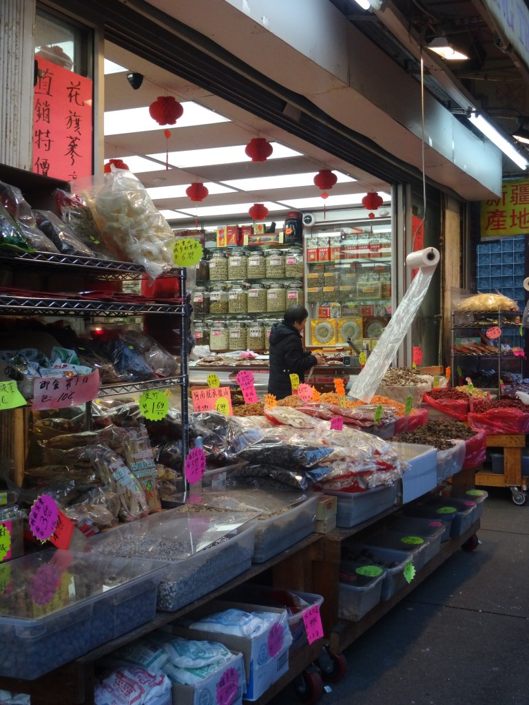 A grocery shop with Chinese signs, which would ward off non-Chinese customers (Photo: Karin de Nijs)