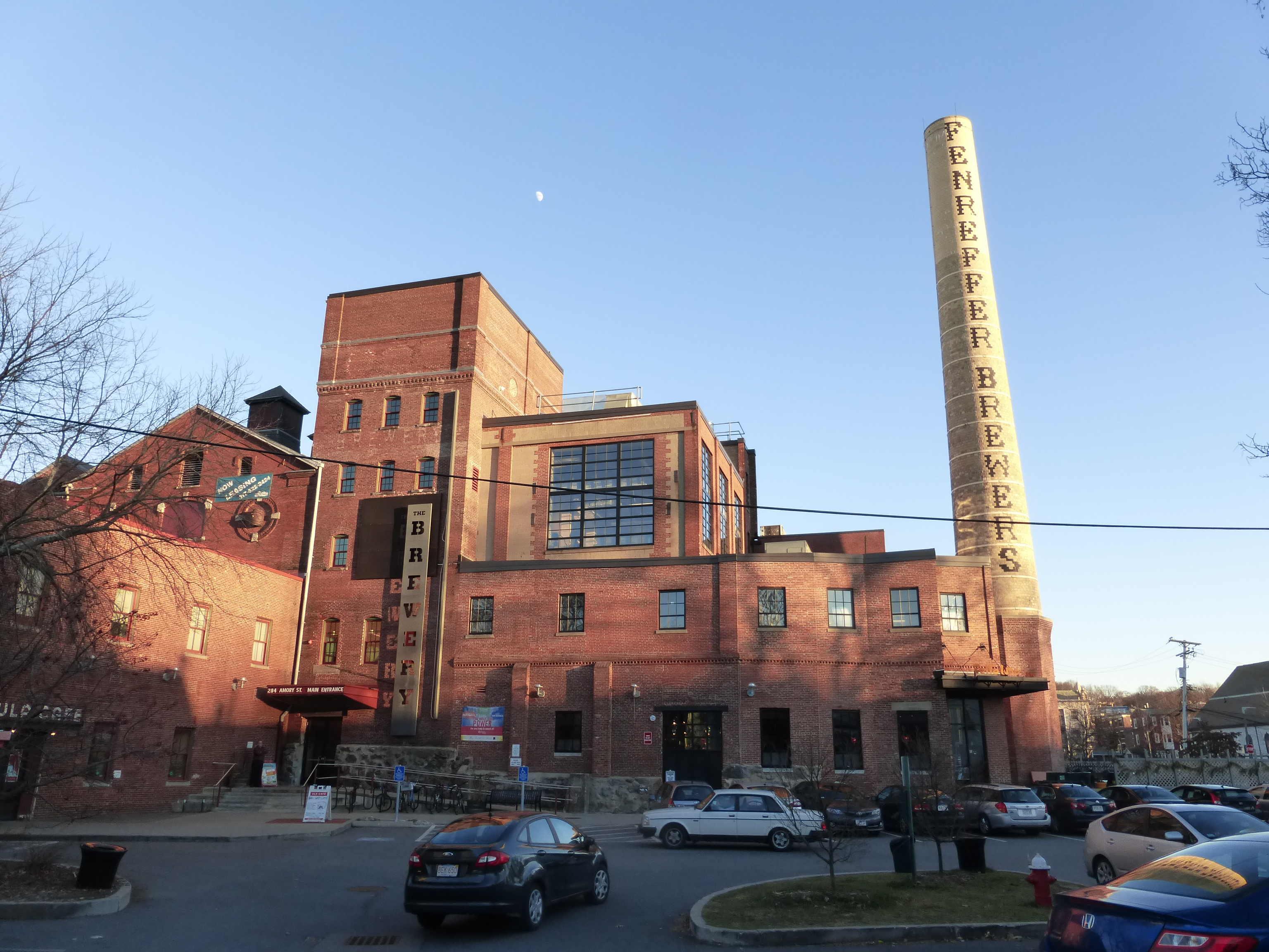 Boston Beer Company. Jamaica Plain, Boston. US. Photo: author