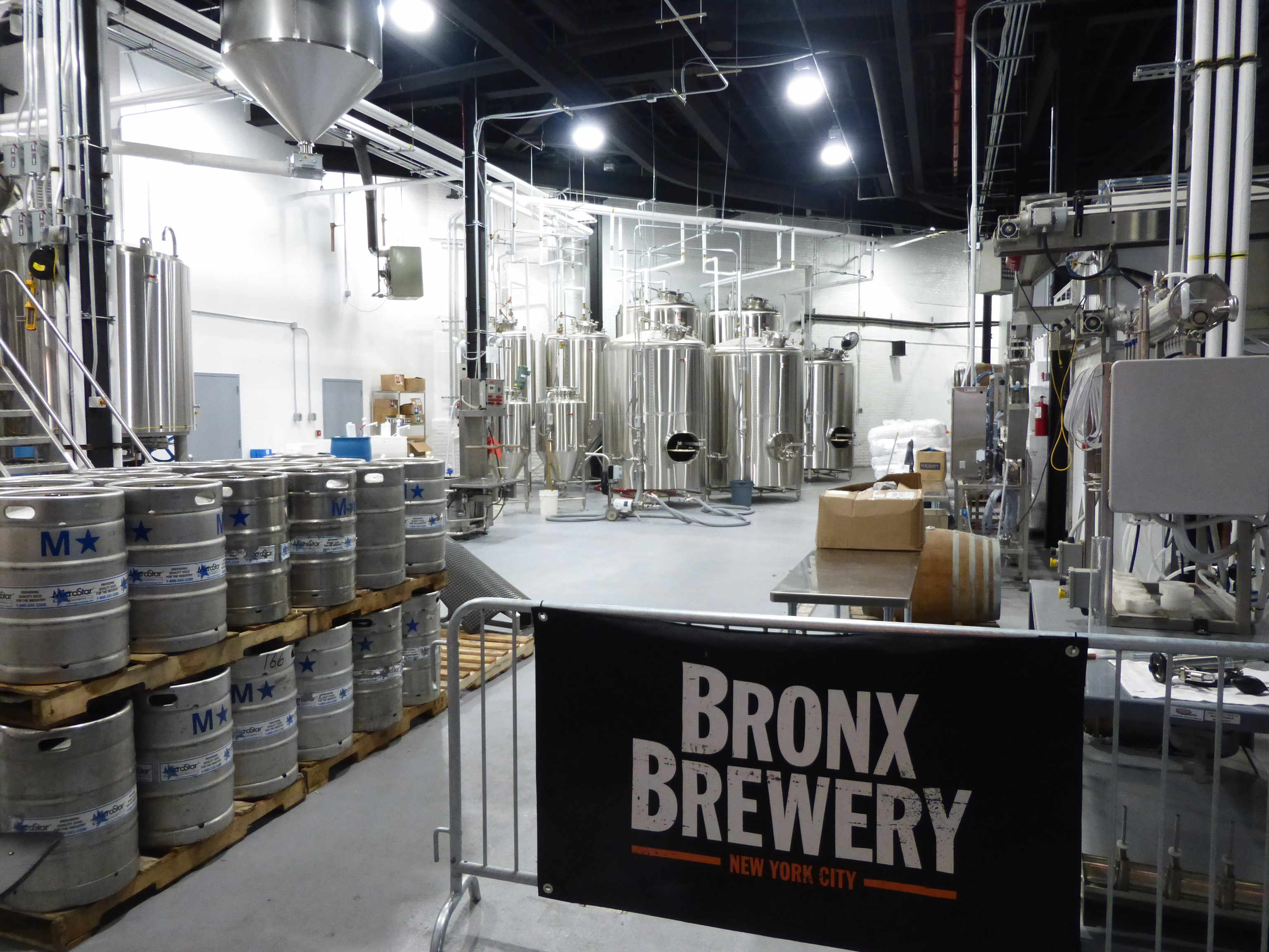 The Bronx brewery and tasting room. The Bronx, NYC, US. Established in 2011. Photo: author