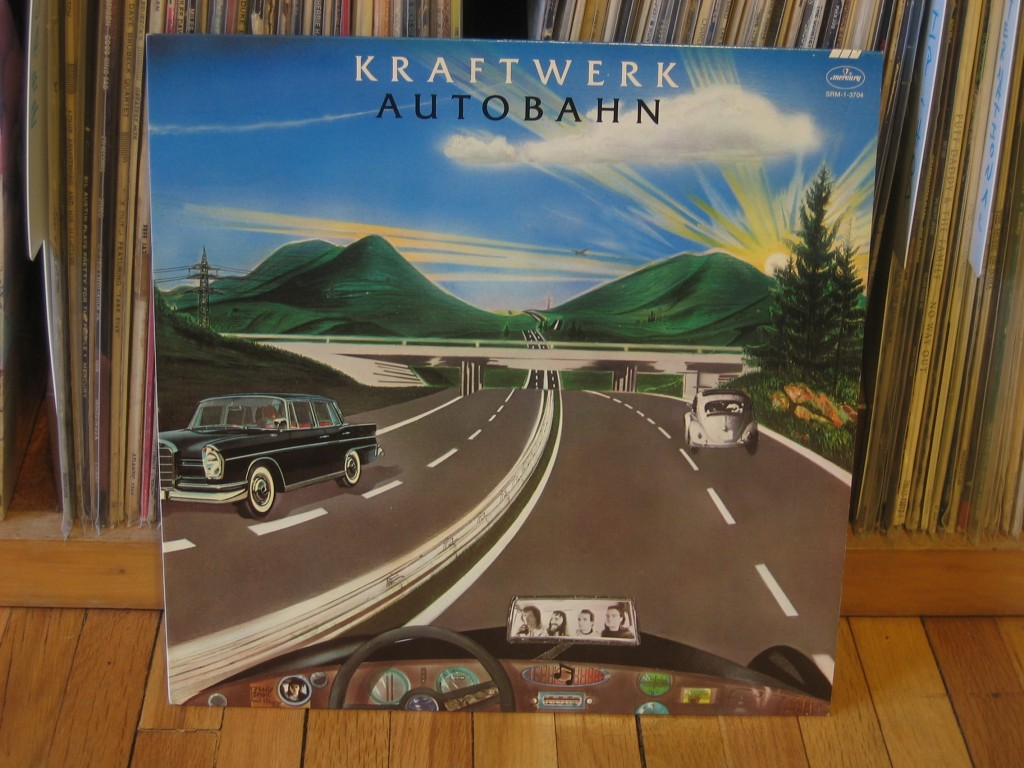 Autobahn vinyl cover, picture by Bryan Kennedy