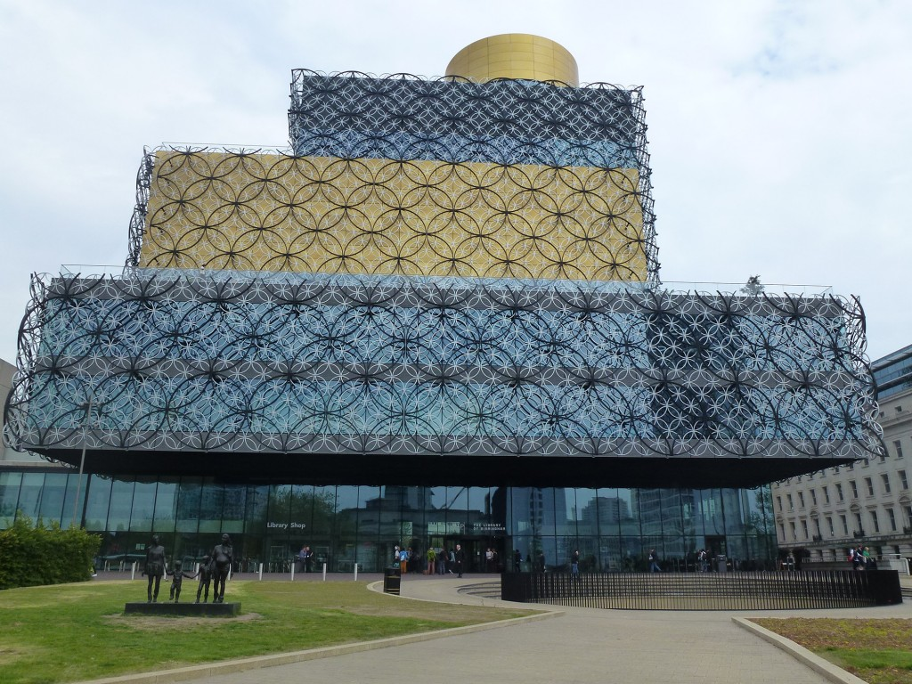 Birmingham's new Public Library (Photo: Marco Bontje)