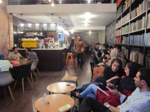 Cafe societies of Tehran. Photo by Reza Shaker Ardekani. Tehran, July 2015