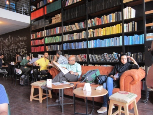 Eclectic taste and fashion in cafes - Reza Shaker Ardekani, Tehran, July 2015