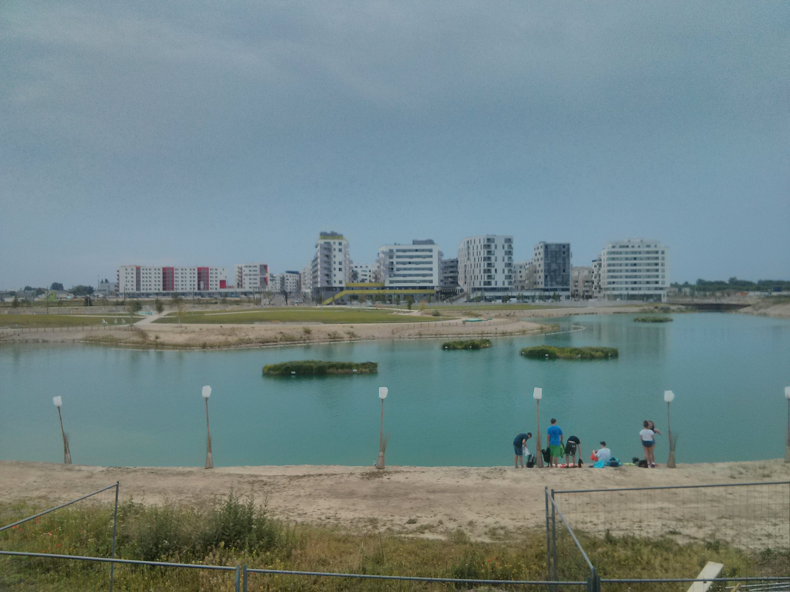 Third case study is the development area 'Seestadt Aspern' (picture by Lukas Franta)