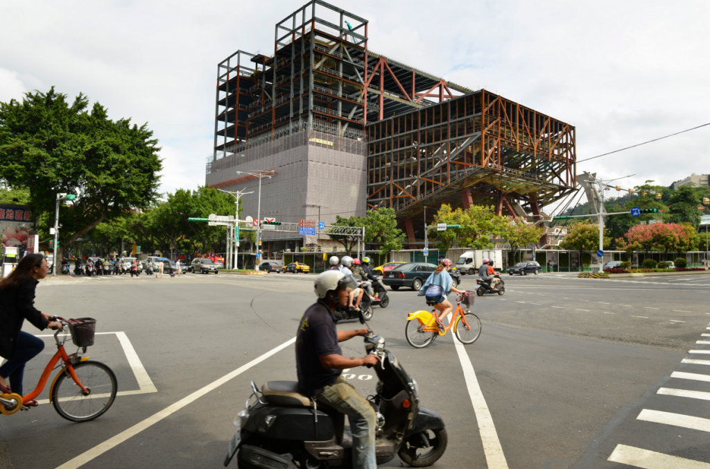 TPAC under construction (Photo: OMA)