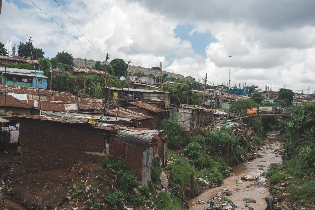 Homes in Kibera (Photo: Adam Nowek)