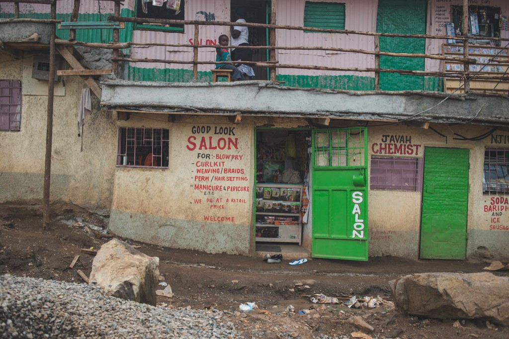 A storefront in Kibera (Photo: Adam Nowek)