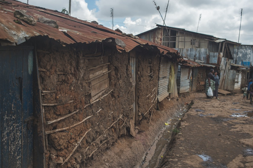 House exterior in Kibera (Photo: Adam Nowek)