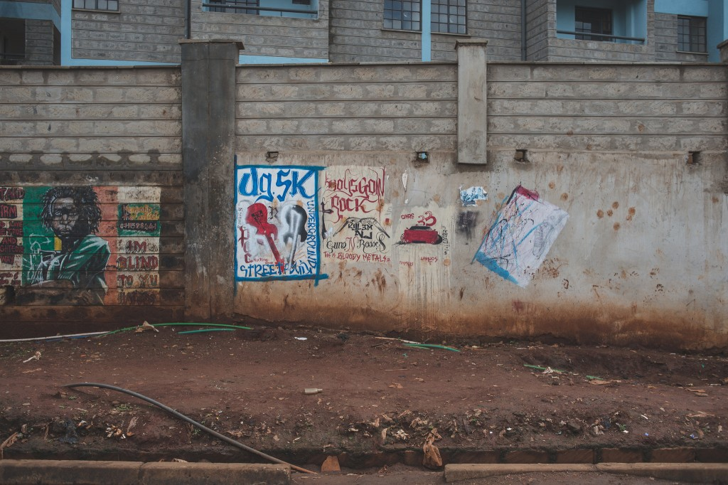 Street art in the Soweto East neighbourhood of Kibera (Photo: Adam Nowek)