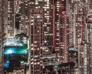 Tightly-packed high-rise living (Photo: november-13/Flickr)