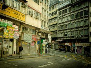 Street scene in Sai Ying Pun (Photo: Os Ishmael/Flickr)