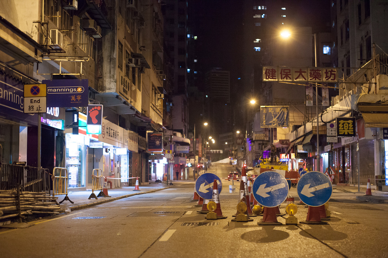 Road maintenance in Sai Ying Pun (Photo: Jens Schott Knudsen/Flickr)
