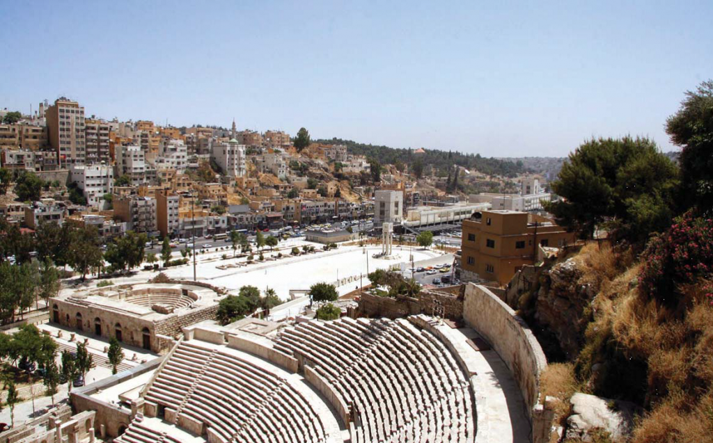 Amman downtown (Source: Greater Amman Municipality, 2008)