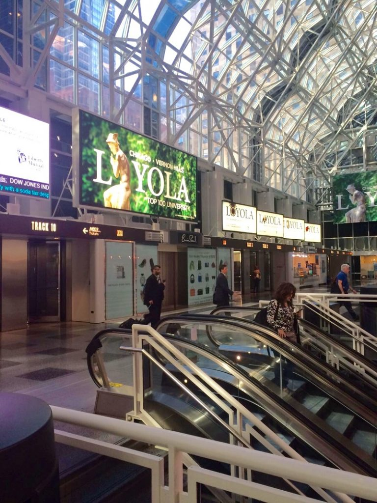 The entrance to the tracks at Ogilvie Transportation Center (Photo: Catherine O'Brien)