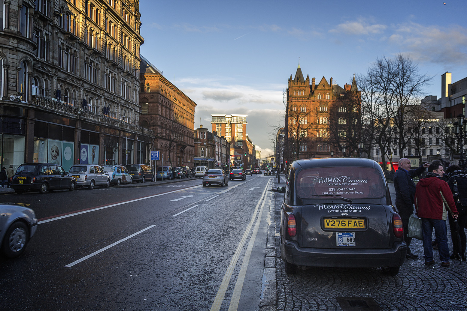 Belfast's affinity with the car stems back to the 20th century and continues into contemporary times (Photo: Rodrigo Silva/Flickr)