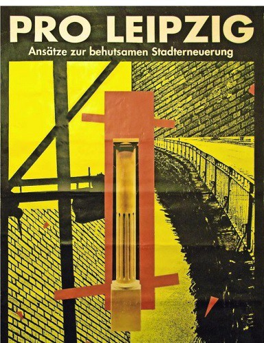 Exhibition in 1990 organized to raise debate on the future of the city.