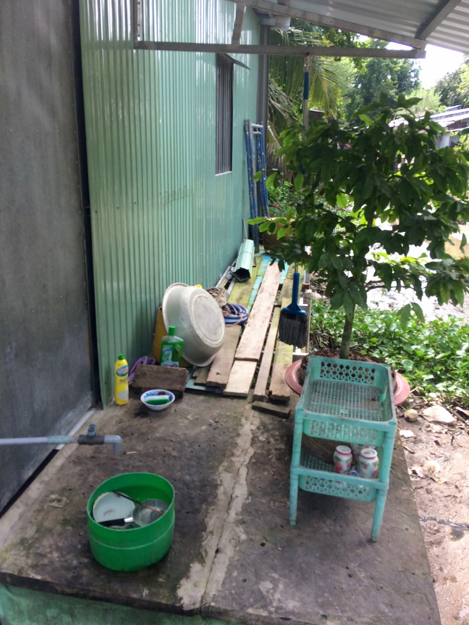 Household piped water access in Thốt Nốt District, Cần Thơ City, Vietnam (Photo: Sarah Allen)