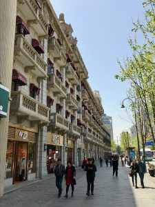 European architecture is prominent along Zhongshan Avenue (Photo: Carl Hooks)