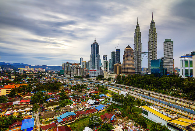 Edinburgh and Kuala Lumpur: 6,603 miles apart and still driven by the same forces