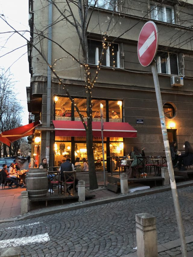 The degree of gentrification as a measurement for social justice in Belgrade.